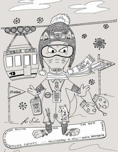 N°5 Snowboard