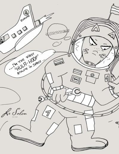 N°8 Astronaut